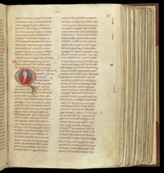 Christ or Moses, in Gregory the Great's 'Moralia in Job'